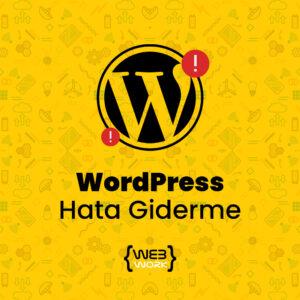 WordPress Hata Giderme
